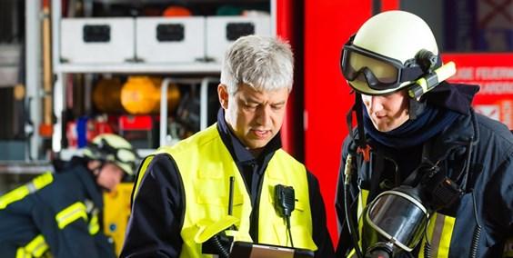 Beamter bei der Feuerwehr